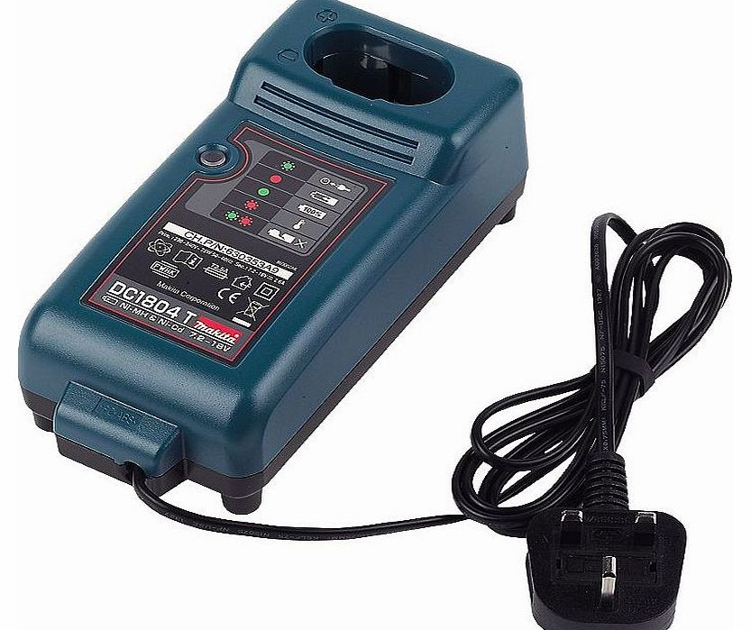 Makita DC1804F 1hr Battery Charger 7.2-18V DC1804T product image