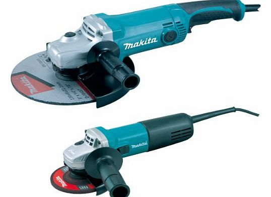 Makita DK0004 240V GA 9050/ 9554NB Grinder (Twin Pack) product image