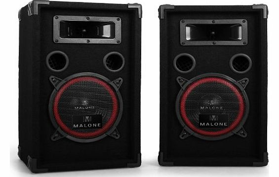 Malone 8`` Passive PA Speakers Pair -1000W Max product image