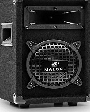 Malone PW-0622 Passive 6.5`` DJ PA 3-Way Speaker - 250W