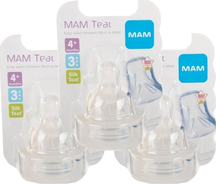 Mam, 2102[^]0099549 Teat 3 Fast Flow - Triple Pack