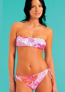 Mambo Summer Love bandeau bikini set