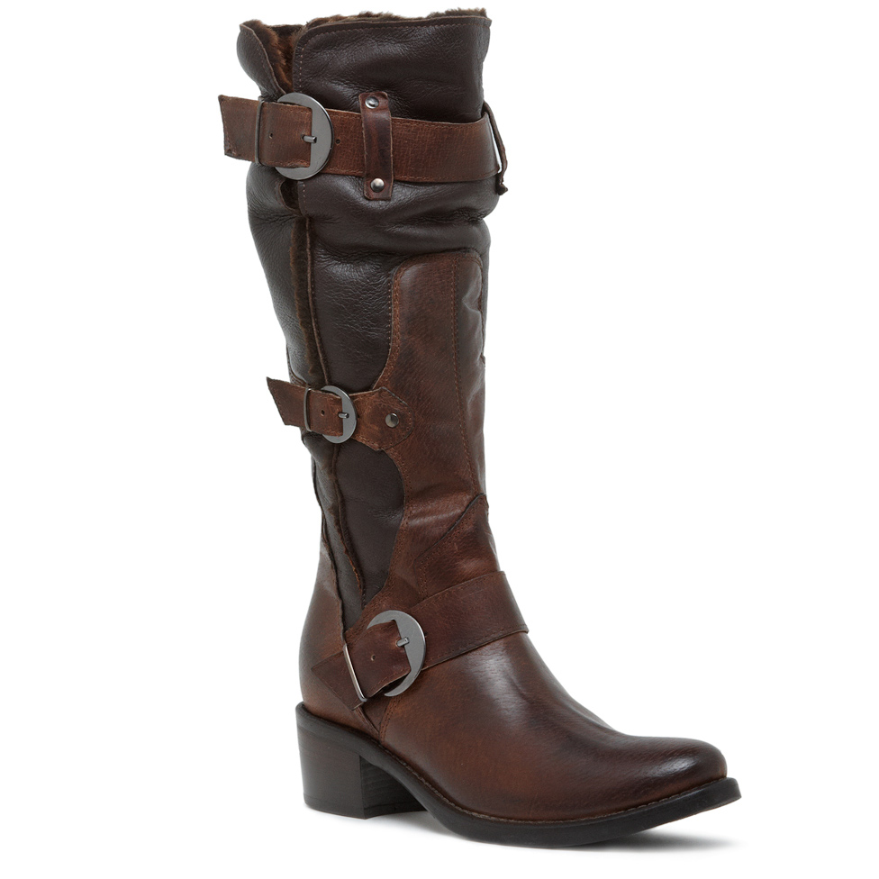 Manas Tall Buckle Boot 82335