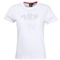Manchester United Devil Foil T-Shirt - White - product image
