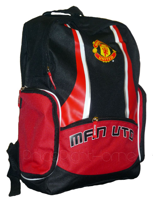 Manchester United FC Backpack Rucksack Bag Manchester United FC Backpack.