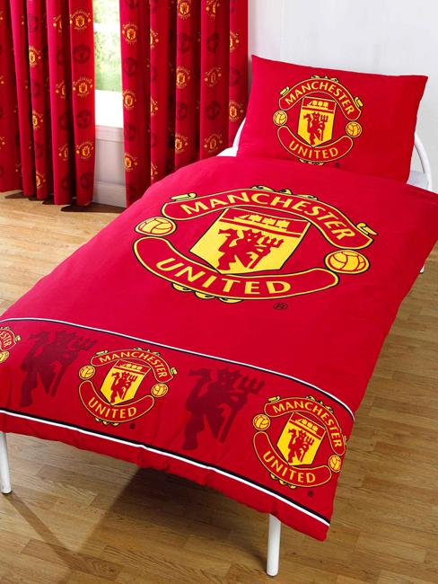 Duvet Covers Manchester United Single Duvet Cover Set