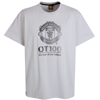 Manchester United OT100 T-Shirt - Putty. product image
