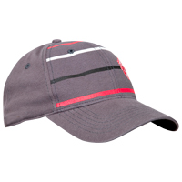 Manchester United Repeat Stripe Cap - Grey. product image