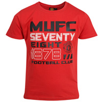 manchester United T-Shirt - Red - Boys. product image