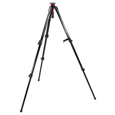 Manfrotto MN745MF3 MDEVE Carbon Fibre Video Tripod product image