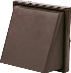 Manrose, 1228[^]14789 Cowl Vent Brown 140 x 140mm 14789