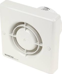 Manrose, 1228[^]73081 QF100S 5W Quiet Axial Bathroom Extractor