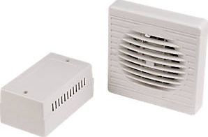 Manrose, 1228[^]14750 XF100LVT/SC 20W Axial Bathroom Fan 14750