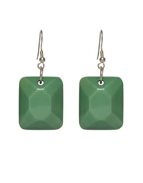 Oversize Square Earrings