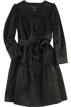 Marc by Marc Jacobs Sateen Tiered Coat