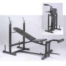 Marcy Fold Away Weight Training Bench