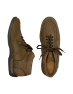 Mariano Napoli Trekker - Men` Taupe Suede Lace-up Ankle Boots