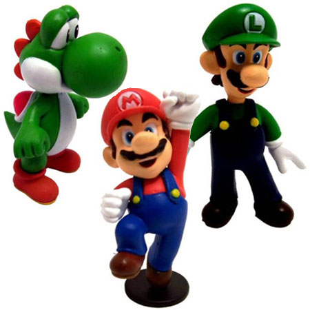 mario and luigi characters. Mini Figures - Mario Luigi