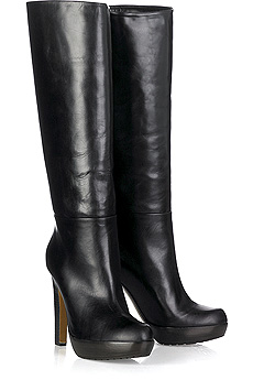 Marni Platform leather boots