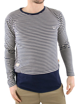 Marshall Artist Navy Long Sleeved T-Shirt product image