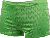 Maru, 1294[^]238440 Reversible Drag Short - Lime and Turquoise