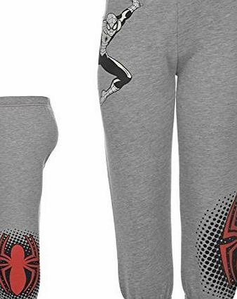 Marvel Kids Jog Pant Boys Jogging Bottoms Tracksuit Pants Sports Spiderman 3-4 Yrs