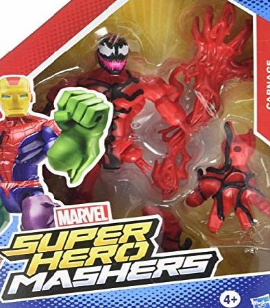 Marvel Spiderman Hero Mashers Carnage Figure