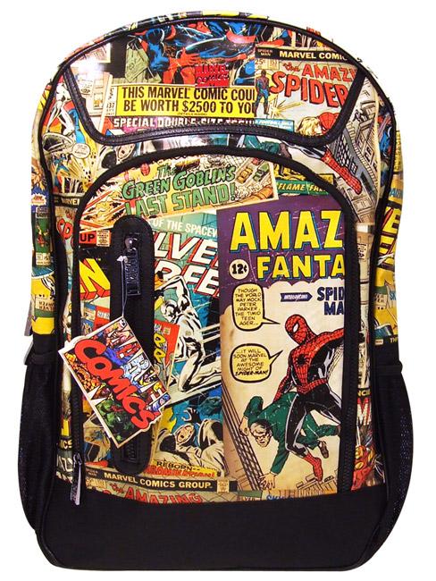 Marvel super hero squad marvel comics backpack rucksack