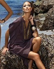 Maryan Mehlhorn, 1295[^]212607 Safari Kaftan - Chocolate
