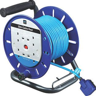 Masterplug, 1228[^]54615 Cable Reel 4G 240V 25m 54615