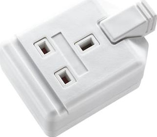 Masterplug, 1228[^]89675 Heavy Duty Rewirable 13A 1-Gang