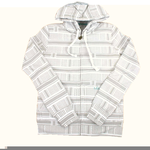 Matix Ladies Matix Asher Ali Zip Hoody White product image