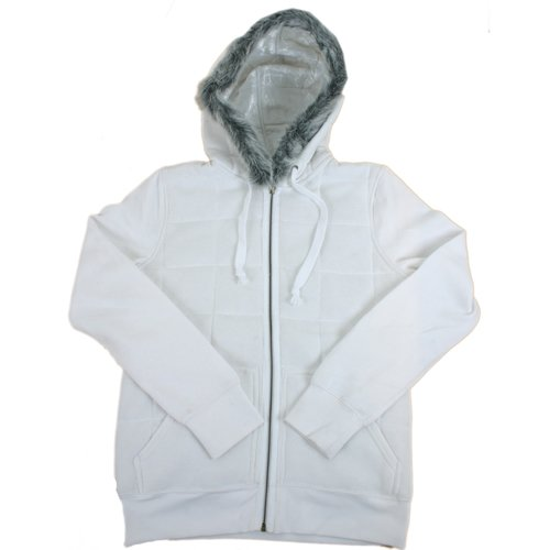Matix Ladies Matix Hokusette Zip Hoody White product image