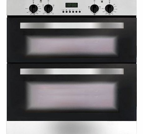 Matrix MD720SS Built Under Electric Double oven in Stainless Steel product image