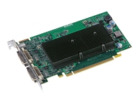 The Matrox M9120 PCIe x16 ATX graphics card renders pristine images with dual monitor support at resolutions up to 1920x1200 (digital), or 2048x1536 (analog) for an exceptional multi-display user experience. Armed with 512MB of graphics memory and ad - CLICK FOR MORE INFORMATION