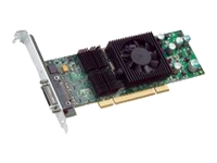 The Matrox QID Low-profile PCI graphics card supports up to 4 digital or analog monitors at a time. For maximum compatibility and flexibility, this card is designed for the PCI slots found in most modern PCs and has a low-profile form factor to fit i - CLICK FOR MORE INFORMATION