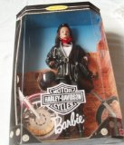 Barbie Collector Edition Harley Davidson 22256- By Mattel in 1998 ( box is in poor condition )