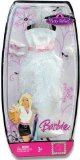 Mattel Barbie Party Perfect Gown Fashion White Dress Outfit product image