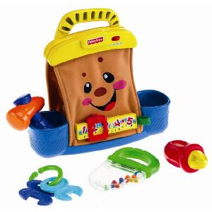 Fisher Price Laugh and Learn My First Tools Tool Bag - YouTube