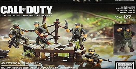 Mattel Mega Bloks DLC 00 - construction toys, Call of Duty Jungle Troopers