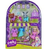 mattel Polly Pocket Sparklin Pets Fashions Polly product image