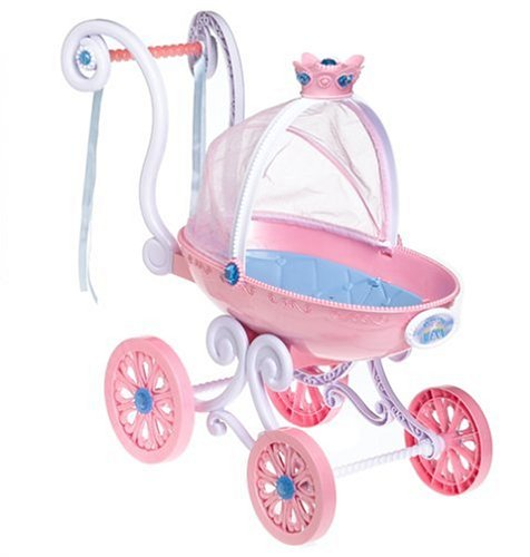 Mattel Princess Alexa Royal Pram Doll