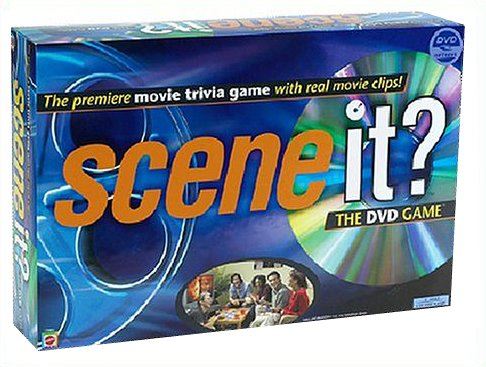 Mattel Scene It - The DVD Game product image