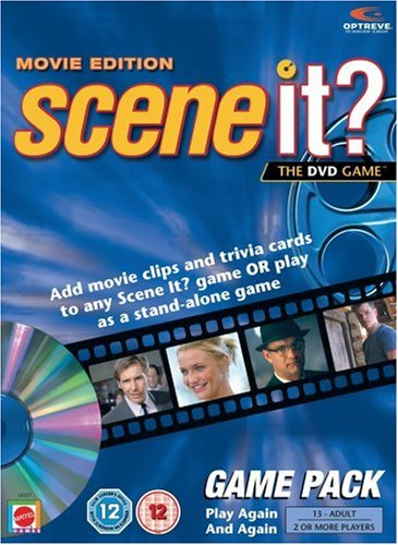 Mattel Scene It? - The DVD Game - Game Pack product image