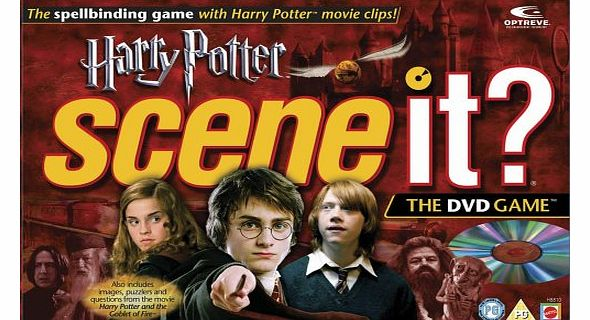Mattel Scene It? - The DVD Game - Harry Potter product image
