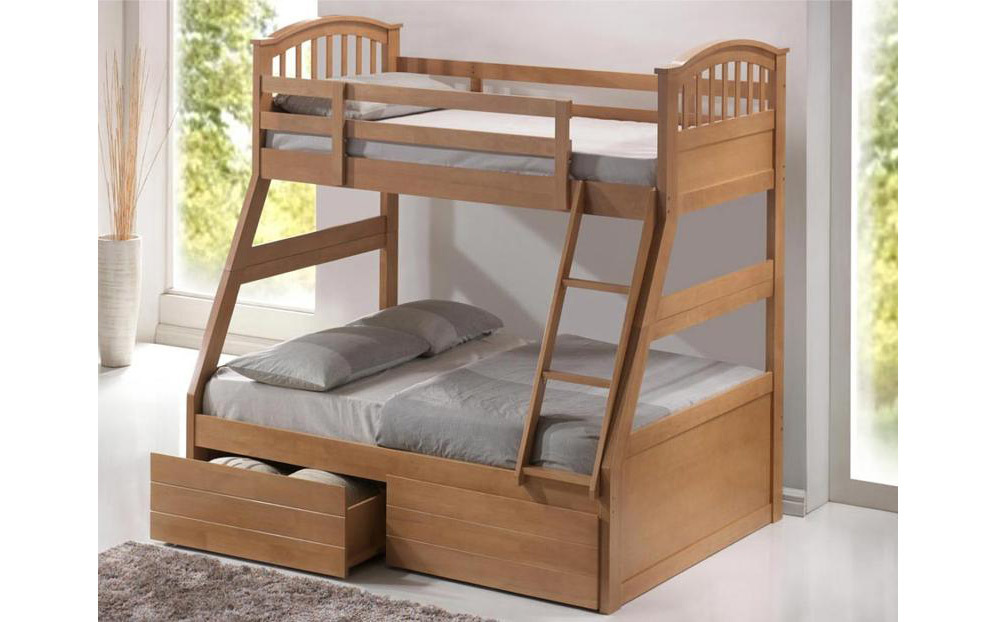 Three Sleeper Beds