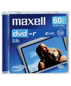 Maxell DVD-R CAM 60 Minute x 3 Pack Jewel Case product image