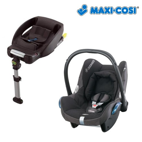 maxi cosi cabriofix carseat with easyfix base isofix. Black Bedroom Furniture Sets. Home Design Ideas