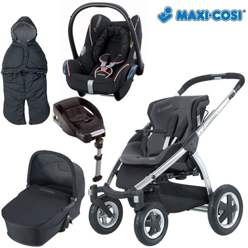 maxi cosi mura 4 2009 package 5 mura 4 carrycot review compare prices buy online. Black Bedroom Furniture Sets. Home Design Ideas