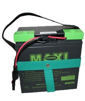 MAXI POWER 12V - 18/20AH BATTERY (18 HOLE) FOR HILL BILLY